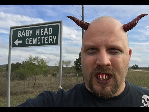 Baby Head Cemetery - Haunted Halloween Tour 2015