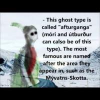 Icelandic ghosts