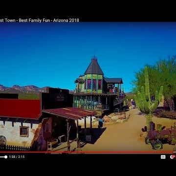 Goldfield Ghost Town - Best Family Fun - Arizona 2018